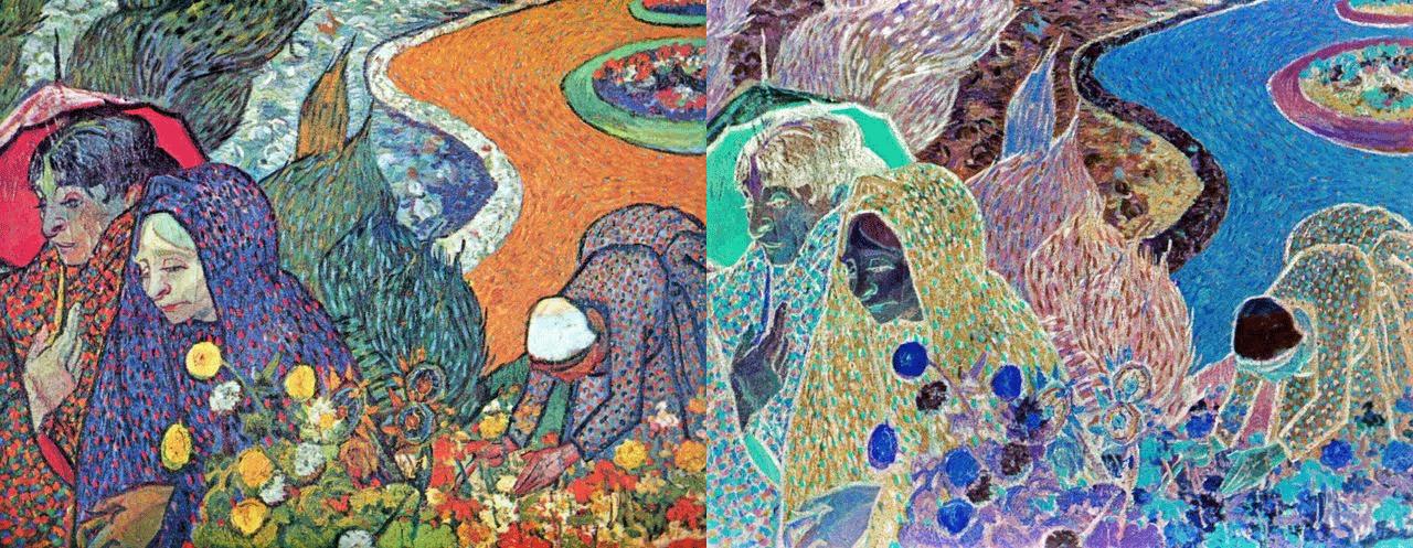 Проверка цветовой гармонии инверсией цвета